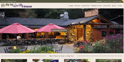 website design for bed and breakfast inns, chamber of commerce, boutique hotels, restaurants, etc.!