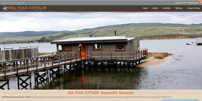 sea star cottage tomales bay point reyes national seashore lodging