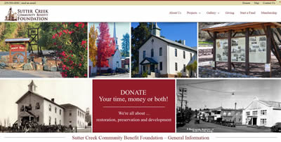 sutter creek community benefit foundation