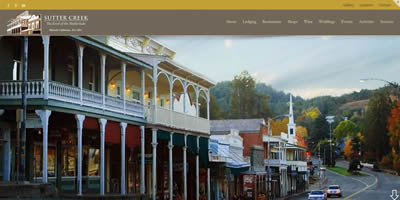 sutter creek tourism - lodging, restaurants, shopping and more